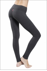 Hardtail Flat Waist Ankle Legging (Dark Charcoal)