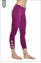 Hardtail Flat Waist Cage Legging (Orchid)