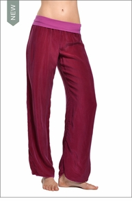 Hardtail Flat Waist Pant (Very Berry)