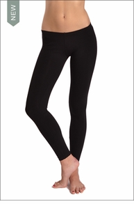 Hardtail Low Rise Ankle Legging (Black)