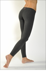 Hardtail Low Rise Ankle Legging (Dark Charcoal)