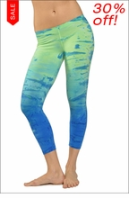Hardtail Low Rise Layered Legging (Jurassic Tie-Dye)