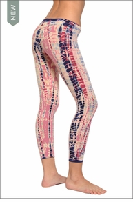 Hardtail Low Rise Layered Legging (Lollipop Lizard Tie-Dye)