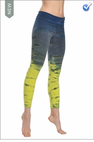 Hardtail Roll Down Layered Legging (Tie-Dye RH35)