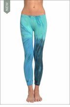 Hardtail Low Rise Layered Legging (Trevi Fountain Tie-Dye)