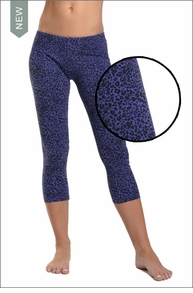 Hardtail Low Rise Leopard Layered Legging (Wisteria)