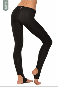 Hardtail Low Rise Stirrup Leggings (Black)