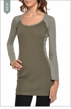 Hardtail Notch Front Varsity Tunic