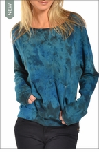 Hardtail Raglan Sweatshirt (Wishing Well Tie-Dye)
