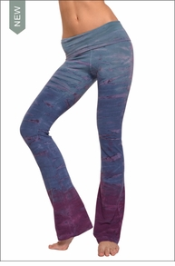 Hardtail Roll Down Boot Leg Pants (Thailand Sunset Tie-Dye)