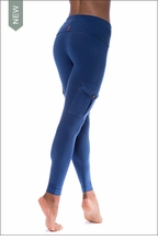 Hardtail Roll Down Cargo Ankle Leggings (Twilight)