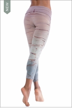 Hardtail Roll Down Layered Legging (588, Tie-Dye RH45)