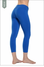 Hardtail Roll Down Layered Legging (Angel)