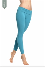 Hardtail Roll Down Layered Legging (Gulf)
