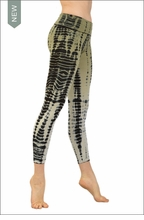 Hardtail Roll Down Layered Legging (Lounge Lizard Tie-Dye)