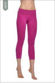Hardtail Roll down Layored Legging (Very Berry)