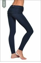 Hardtail Scrunch Waist Ankle Legging (Past Midnight)