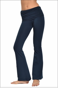 Hardtail Scrunch Waist Flare Pant (Past Midnight)