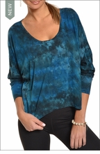 Hardtail Slouchy Dolman (Wishing Well Tie-Dye)