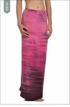 Hardtail Straight Maxi Skirt (Berry smoothie)
