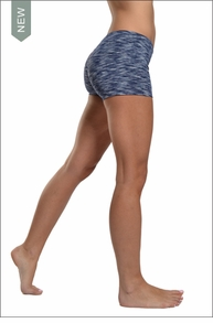 Hardtail Supplex Bootie Short (Patterned Navy)