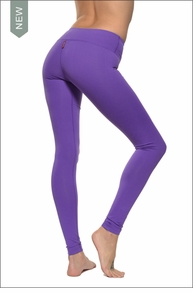 Hardtail Supplex Flat Waist Ankle Legging (Iris)
