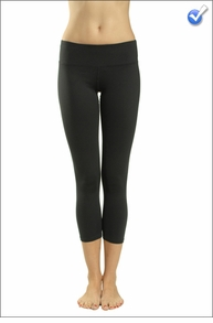 Hardtail Supplex Flat Waist Capri