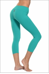 Hardtail Supplex Flat Waist Capri (Mermaid)