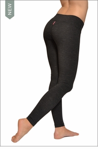 Hardtail Supplex Flat Waist Micro Stripe Ankle Legging