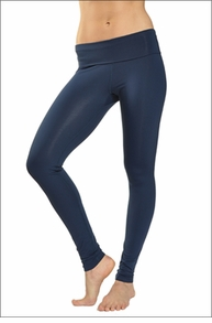 Hardtail Supplex Roll Down Skinny Legging (Midnight)