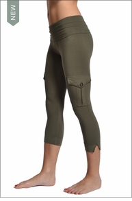Hardtail Roll Down Cargo Crops (Olive)
