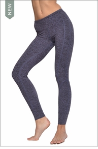 Hardtail Brushed Heather Flat Waist Cuff Pant (Brushed Concord)