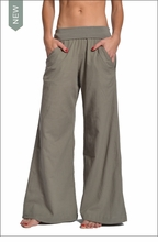 Hardtail Roll Down Voile Gypsy Pants (River Rock)