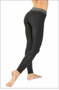 Hardtail Tri-Tonal Ankle Legging (Black)