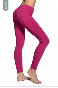 Hardtail Flat Waist Ankle Legging (Berry)