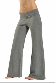 Hardtail Wide Leg Roll Down Pants (Charcoal)