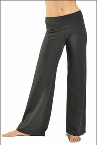 Hardtail Wide Leg Roll Down Pants (Dark Charcoal)