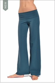 Hardtail Wide Leg Roll Down Pants (Moon)