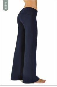Hardtail Wide Leg Roll Down Pants (Night Owl)