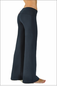 Hardtail Wide Leg Roll Down Pants (Past Midnight)