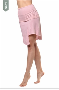 Hardtail Wide Roll Down Skirt/Mini Tube Dress (SJ-25, Camen Pink)