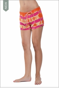 Hardtail Woven Drawstring Short (Sherbert Electric Lines)