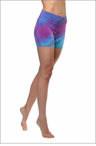 Hi Rise Bootie Short (Tie-Dye DRH4) by Hard Tail Forever