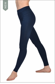 High Rise Ankle Legging (Past Midnight) by Hardtail