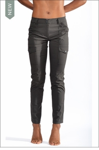 Kate Skinny Cargo Pants (as411, Gray) by Anatomie