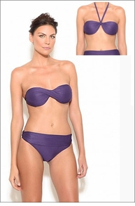Lenny Niemeyer Bandeau with High Waist Bottom
