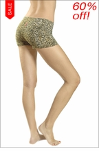 Leopard Print Bootie Shorts by Hardtail