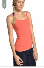 Long spaghetti tank with Bra (Persimmon) by Hardtail