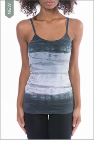 Long Spaghetti Tank with Bra (Style 586, Tie-Dye DHW1) by Hard Tail Forever by Hardtail