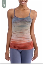 Long Speghetti Tank with Bra (586, Tie-Dye RH44) by Hard Tail Forever